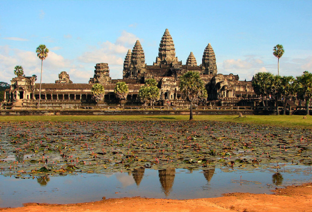 Angkor Wat is the best known attraction in Cambodia