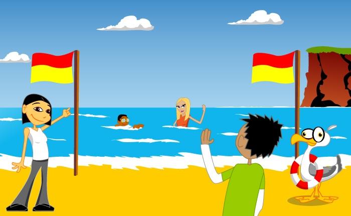 swimbetweentheflags